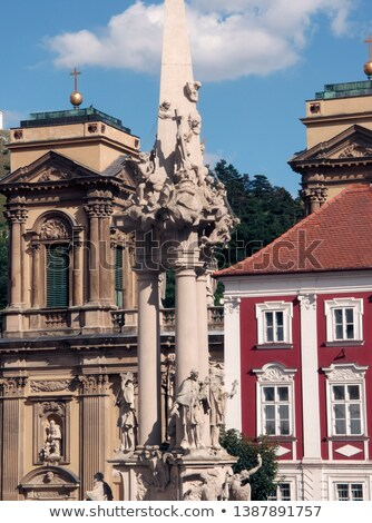 statue of saints, Southern Moravia, Czech Republic Stock photo © phbcz