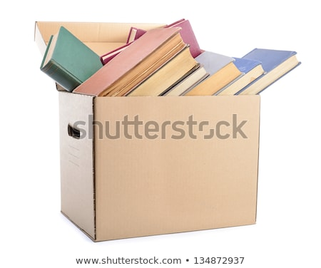 Packing books for mailing Stock photo © Valeriy