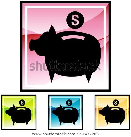 alkotóelem · vektor · érme · illusztráció · internet · pénz - stock fotó © rizwanali3d