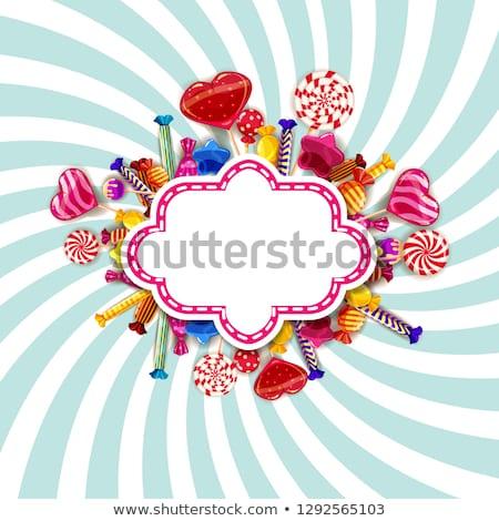 красочный Sweet различный праздник Пасху Сток-фото © dariazu