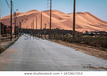 morocco highway Stock photo © tony4urban