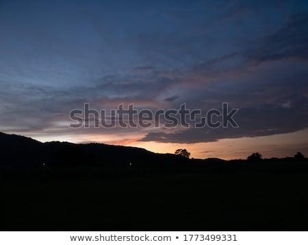 hajnal · hegyek · fantasztikus · napfelkelte · tél · Ukrajna - stock fotó © Kotenko