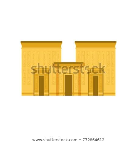 alivio · templo · detalle · antigua · Egipto · África - foto stock © simply