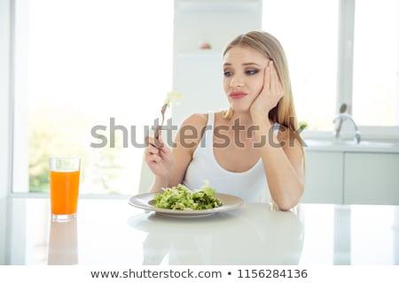 Сток-фото: подчеркнуть · пластина · слово · белый · продовольствие · школы