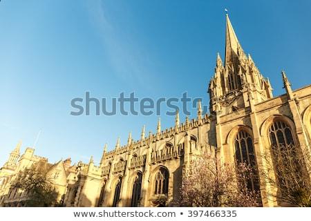 Universidade igreja virgem oxford impressionante gótico Foto stock © chrisdorney