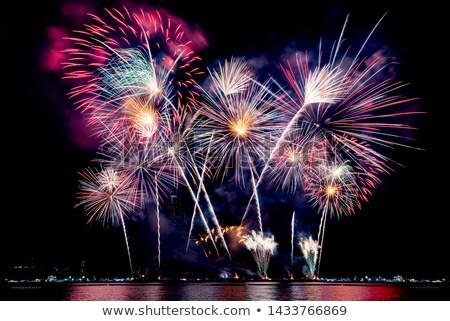 beautiful fireworks display  Stock photo © SArts