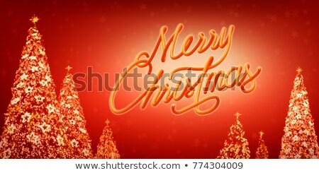 Capodanno party celebrazione poster illustrazione tipografia Foto d'archivio © articular