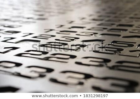 изображение письме числа женщину природы Сток-фото © wavebreak_media