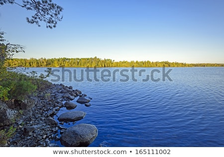 Early Morning in Canoe Country Stock photo © wildnerdpix
