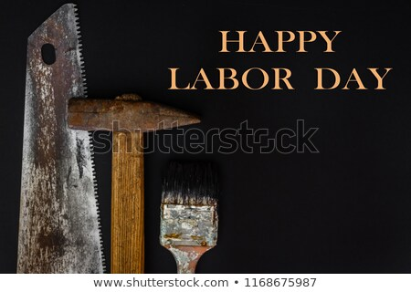 Labor Day holiday concept on rustic wooden background  Stock photo © tab62