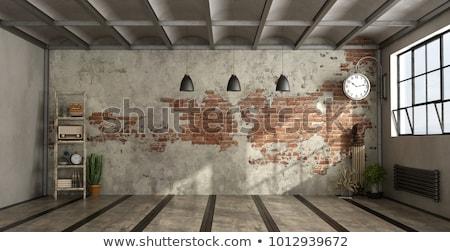 ladder · lege · interieur · licht · moderne · 3D - stockfoto © maknt