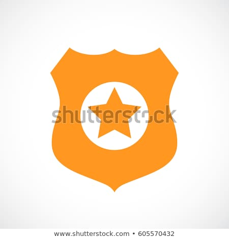 police icon flat stock photo © smoki
