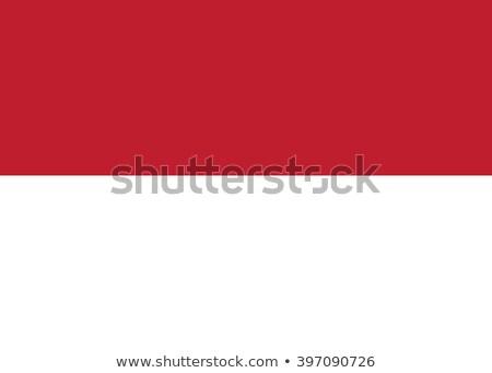 Indonesia bandiera frame illustrazione design sfondo Foto d'archivio © colematt