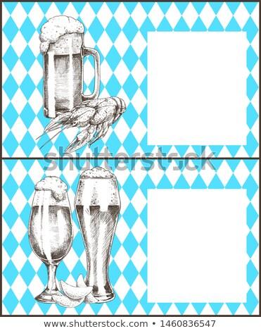 チューリップ ビール ガラス マグ ポスター ストックフォト © robuart
