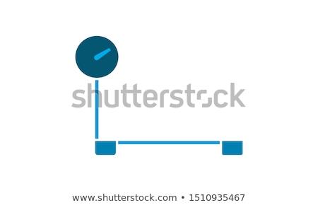 vector set of people on weighing machine Stock photo © olllikeballoon