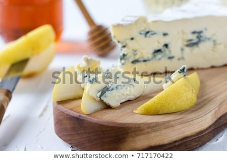 Cambozola cheese close-up Stock photo © Alex9500