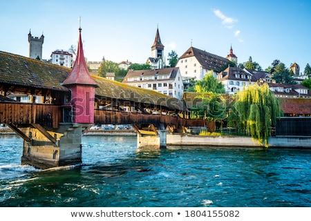 Spreuer Bridge, Lucerne Stock photo © borisb17