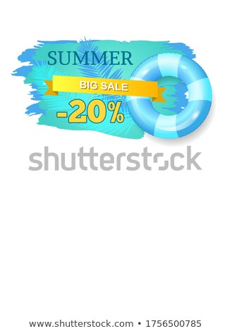 Summer Big Sale Summertime Proposition for Clients Stock photo © robuart