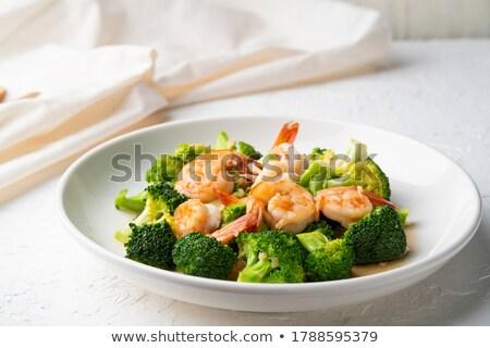 Brokoli sos gıda mutfak Stok fotoğraf © tycoon