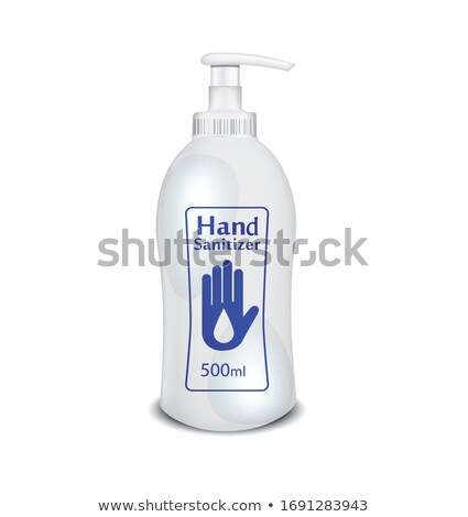 gel or liquid based hand sanitizer realistic bottle Stock photo © SArts