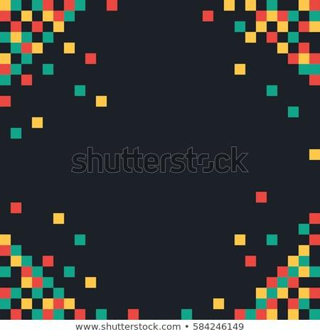 Pixel background. Tiles texture. Seamless vector.   Stock photo © ukasz_hampel