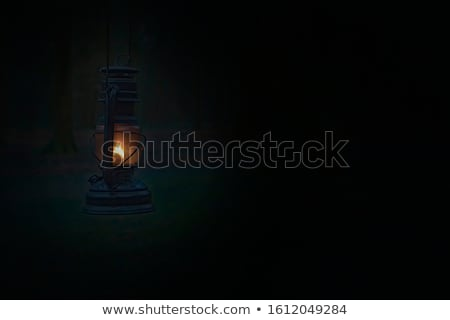 Old fashioned lantern Stock photo © joyr