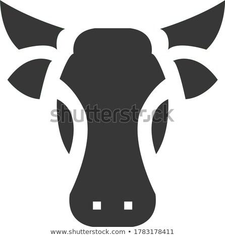 buffalo head sacrifice Stock photo © smithore
