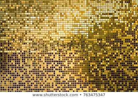 abstract · metaal · mozaiek · business · textuur · ontwerp - stockfoto © studiodg