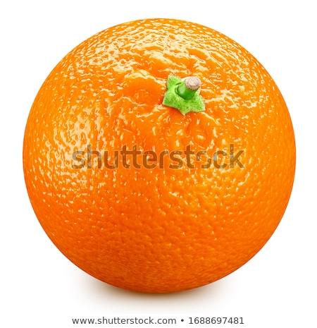 dois · laranjas · outro · branco · isolado · saúde - foto stock © calvste