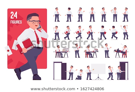 aged male employee posing in style stock photo © stockyimages