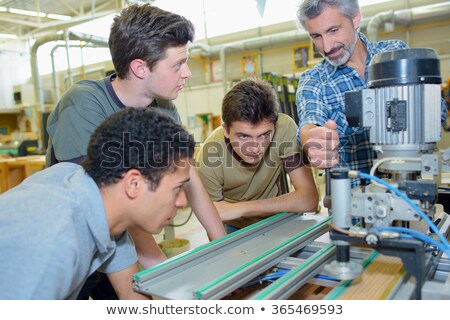 Manual worker with young apprentice Stock photo © photography33