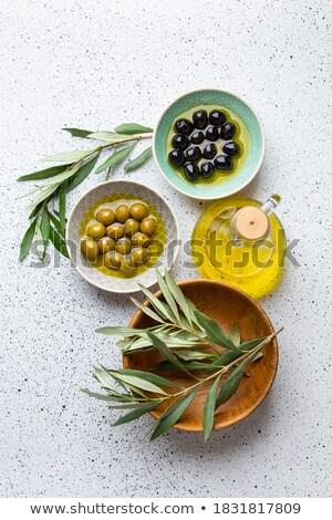 Olive concept Stock photo © simazoran