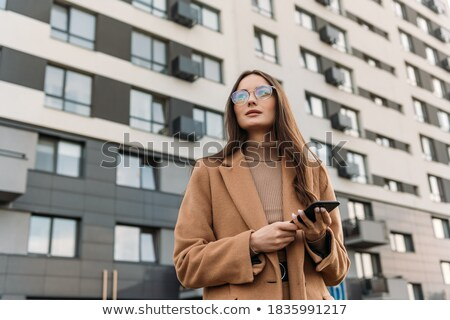 Trendy business consultant wearing sunglasses Stock photo © stockyimages