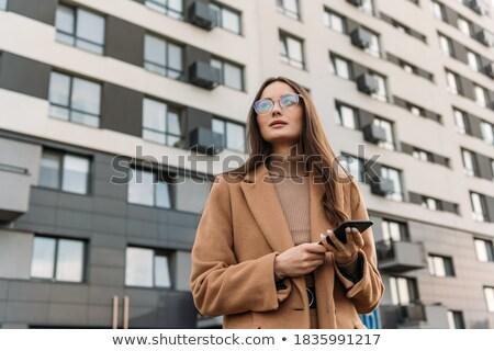 modieus · business · zonnebril · poseren - stockfoto © stockyimages