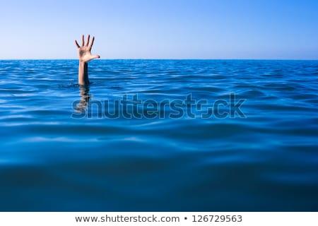 mão · fora · ajudar · isolado · branco · grupo - foto stock © patrimonio