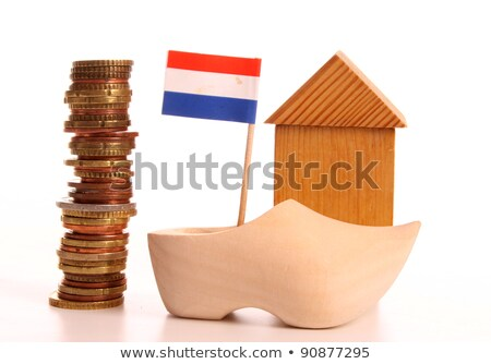 dutch flag with euro coins Stock photo © compuinfoto