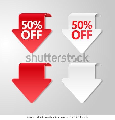 Стрелки · продажи · зеленый · пространстве · синий · цвета - Сток-фото © applicant79