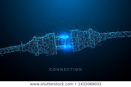 Cable Connection Stock photo © Gordo25