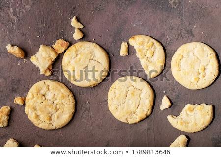 Stock photo: Shortbread cookies