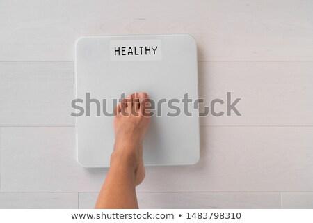 ダイエット 挑戦 健康 肥満した 人 ストックフォト © Lightsource
