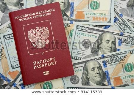 паспорта · двадцать · деньги · путешествия · наличных - Сток-фото © valeriy