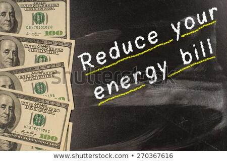 utilidade · projeto · de · lei · caro · dinheiro · alto · dívida - foto stock © zerbor
