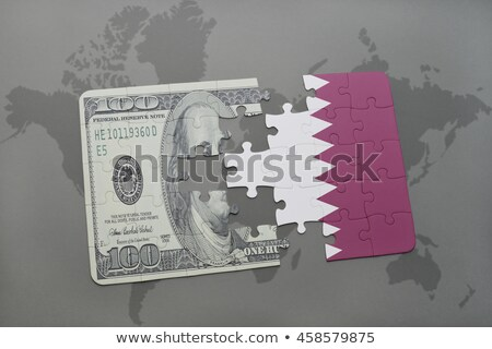 USA and Qatar Flags in puzzle Stock photo © Istanbul2009