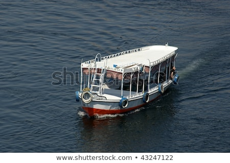 Water Taxi on River Nile Stock photo © smartin69