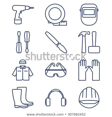 Welding Mask Icon Set Stock photo © cteconsulting