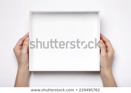 nyitva · ajándék · doboz · felső · kilátás · fél · varázslatos - stock fotó © netkov1