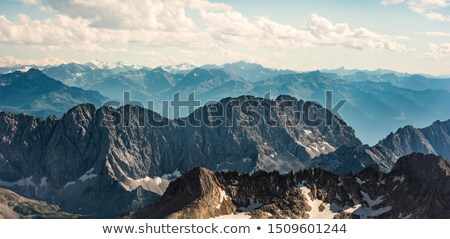 view from zugspitze stock photo © w20er