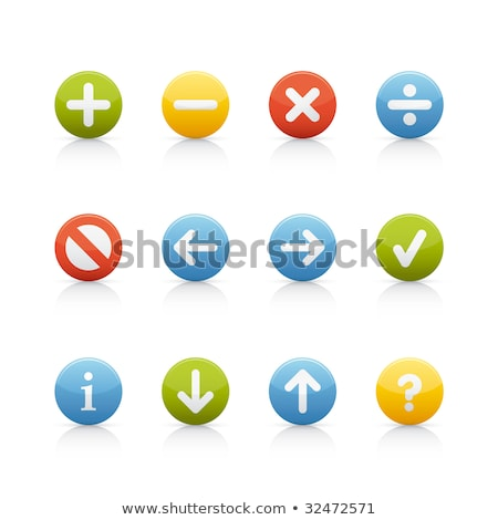 Multiply Yellow Vector Icon Button Stock photo © rizwanali3d
