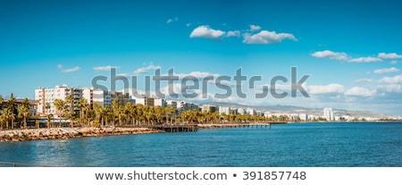 Coast line of Limassol, Cyprus. Panoramic photo Stock photo © Kirill_M