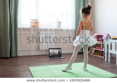 Dans afbeelding mooie meisje dansen clubbing Stockfoto © pressmaster